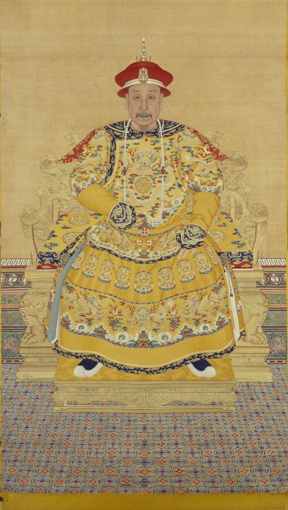清高宗乾隆皇帝爱新觉罗·弘历像(老年)